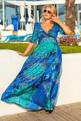 Женское вечернее платье в пол  8033.1
