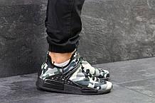 Кроссовки мужские  Adidas NMD Human RACE  милитари