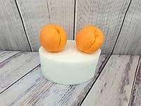 Силиконовая форма для мыла Ideal Brand Абрикос 2 шт 3D №80