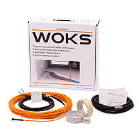 Нагревательный кабель под плитку Woks-10, 220 Вт (21м)