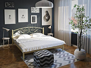 Металлическая двухспальная кровать ЛИЛИЯ ТМ Tenero, фото 2