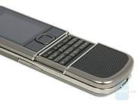 Nokia 8800 Arte Black /1 сим / Копия / 2 Мп, кнопочный телефон с металлическим корпусом серый