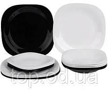 Сервиз Luminarc Carine White & Black 18пр. (N1479)