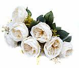 Букет искусственной  роза Остина 46 см, фото 4