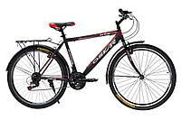 """Велосипед Oskar 26"""" GTX черно-красный (рама - сталь, переключатели Snimano)"""