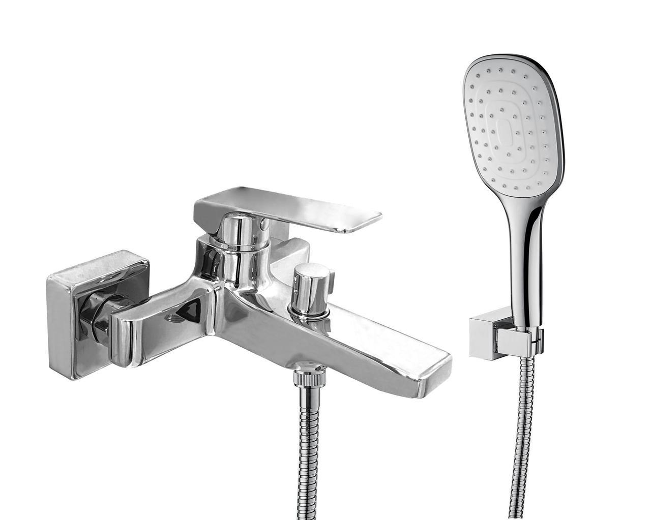 Змішувач для ванни Topaz ODISS-TO 18101-H52, душовий комплект