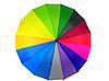 Зонт трость женский Rainbow Max Komfort полуавтомат Anti wind, фото 2