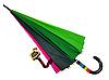 Зонт трость женский Rainbow Max Komfort полуавтомат Anti wind, фото 3