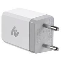 Зарядний пристрій 2E USB Wall Charger USB:DC5V/2.1A, white (2E-WC1USB2.1A-W), фото 1