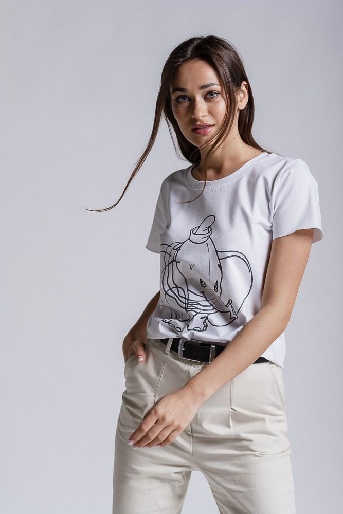 Футболка жіноча з слоненям Дамбо