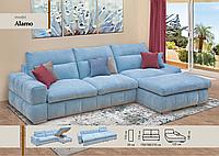 Угловой диван с каждодневной раскладкой Alamo Аламо