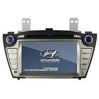 "Штатная магнитола ""Hyaundai Tucson"" GPS / IPOD /ВТ/ RDS / USB / SD / Управление с руля"