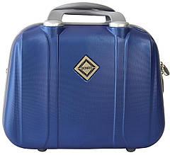 Кейс дорожній Bonro Smile великий синій (10091605)