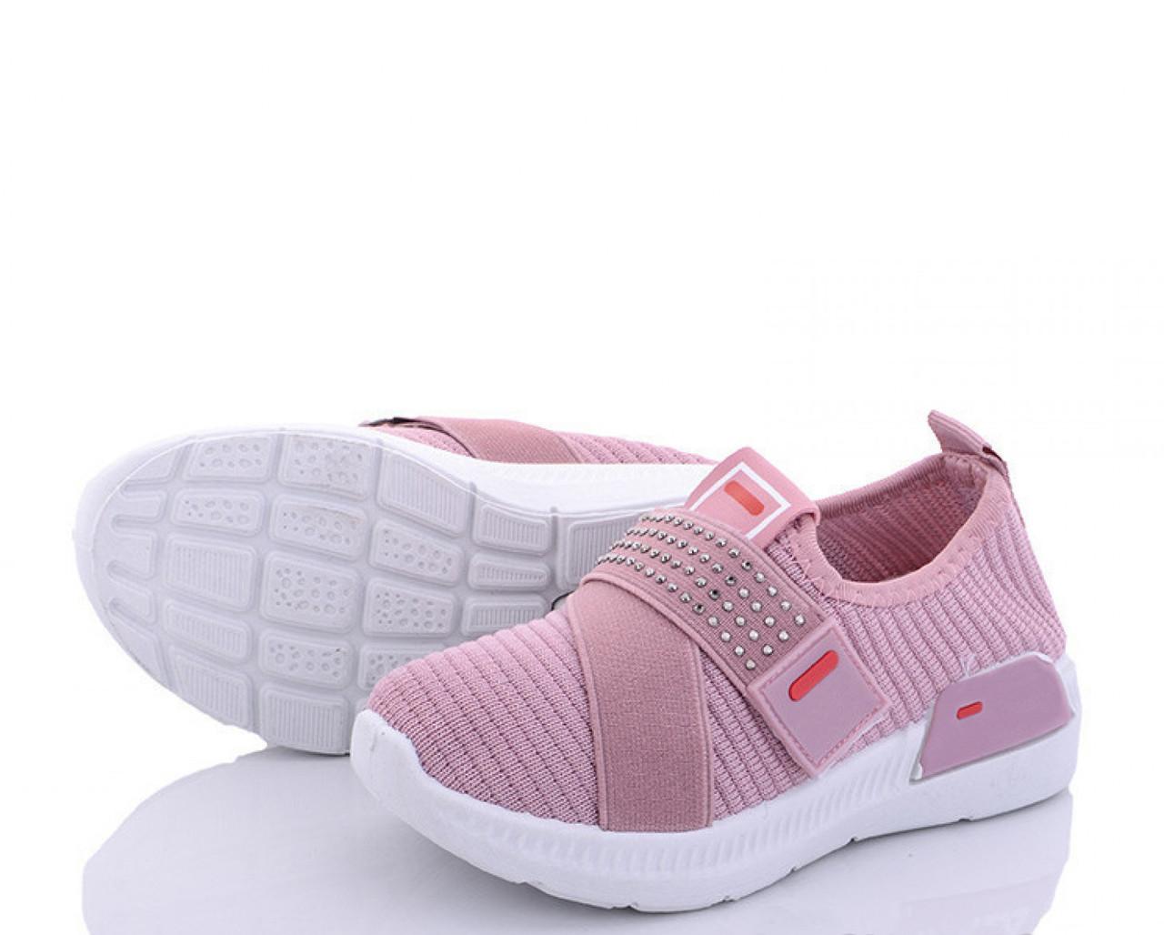 Летние детские розовые кроссовки на девочку из текстиля 29 р. - 18,5 см BR-S 1190356876