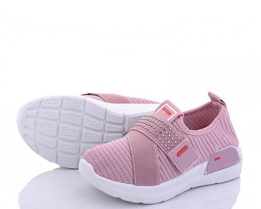 Летние детские розовые кроссовки на девочку из текстиля 29 р. - 18,5 см BR-S 1190356876, фото 2