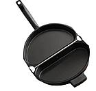 Двойная сковорода для омлета Folding Omelette Pan | Омлетница с антипригарным покрытием, фото 4