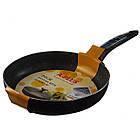 Сковорода с крышкой A-PLUS 26 см сковородка мраморное покрытие, фото 4