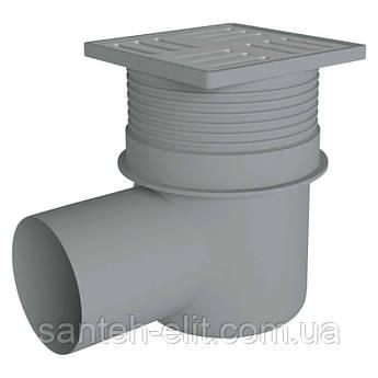 Трап ANI Plast TA1612 горизонтальный с нержавеющей решеткой 150x150