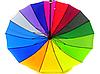 Зонт трость женский Rainbow Max Komfort полуавтомат Anti wind, фото 5