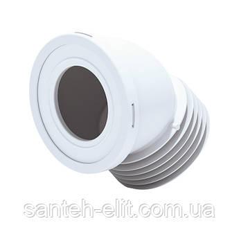 Отвод для унитаза ANI Plast W4228 угол 45˚