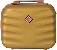 Кейс дорожній  Bonro Next середній золотий (10060102)