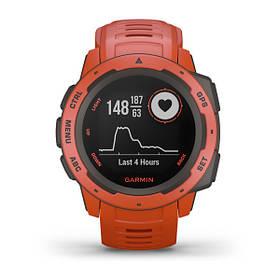 Смарт часы Garmin Instinct, Flame Red