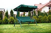 Гойдалка садова Relax 3-х місна зелена (80000008)
