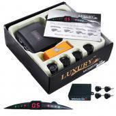 Автомобильный аксессуар для авто парктроник на 4 сенсора Luxury 1003 съемные датчики