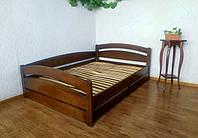 """Детская подростковая кровать с выдвижными ящиками из дерева """"Марта Премиум"""" от производителя"""
