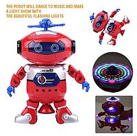Оригинал! Дискоробот, Подарок ребенку Танцующий светящийся робот Dancing Robot   музыкальный робот