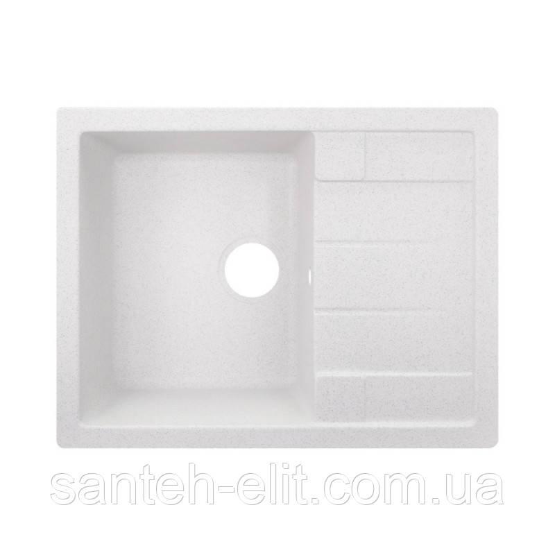 Кухонная мойка GF 650x500/200 WHI-01 (GFWHI01650500200)