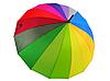 Зонт трость женский Rainbow Max Komfort полуавтомат Anti wind, фото 8
