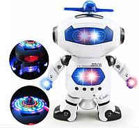 Оригинал! Дискоробот, Подарок ребенку Танцующий светящийся робот Dancing Robot | музыкальный робот