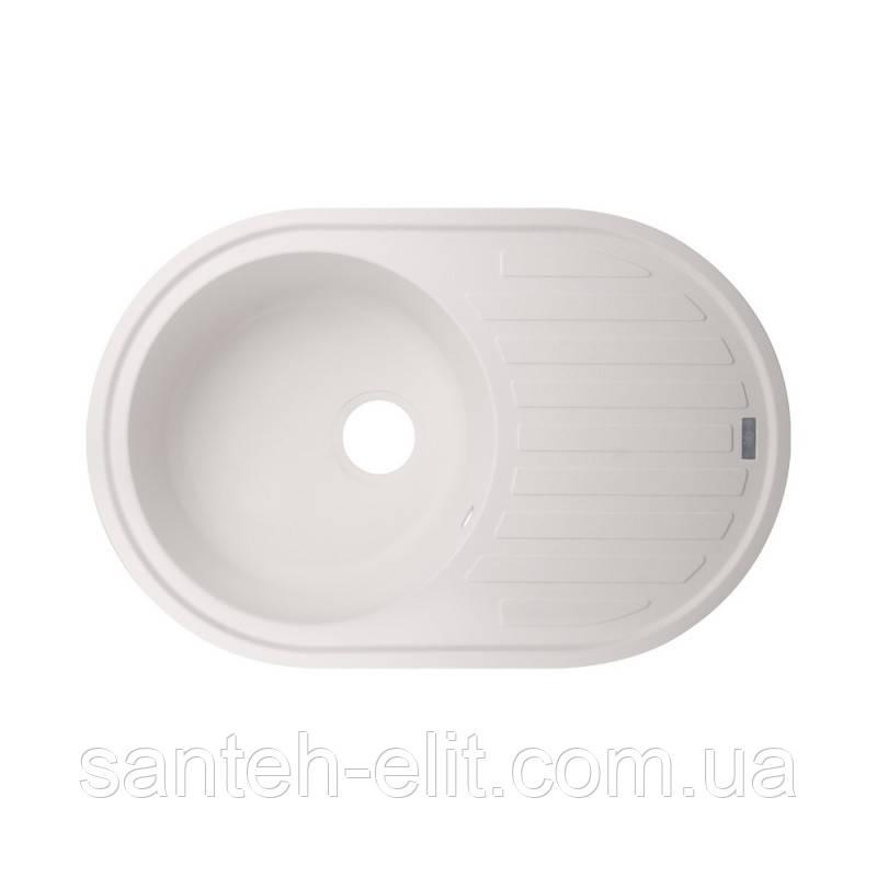 Кухонна мийка GF 780x500/200 WHI-01 (GFWHI10780500200)
