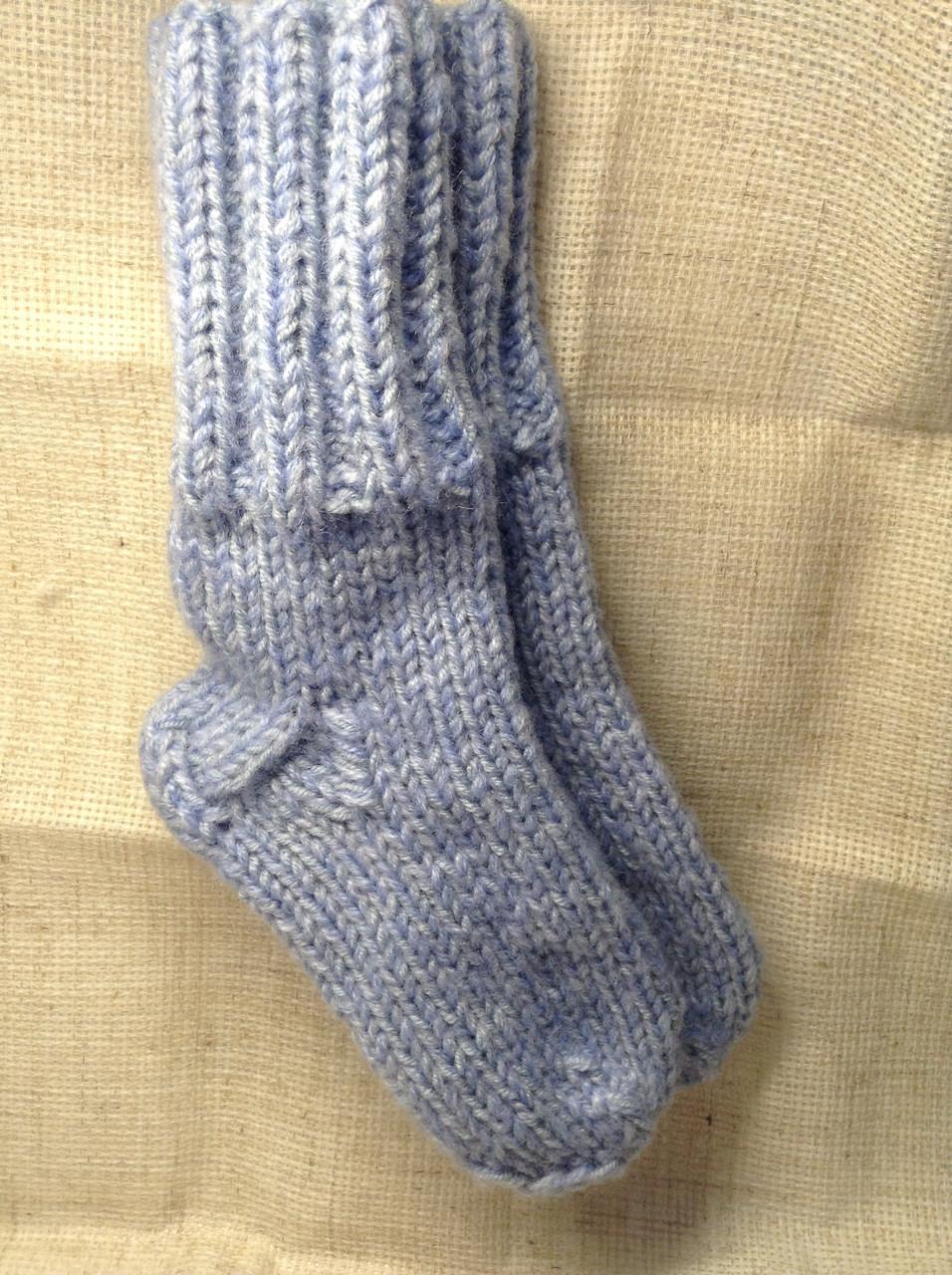 Носки вязаные детские (30% шерсть)