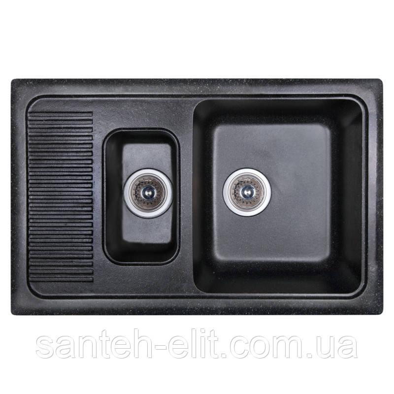 Кухонная мойка Fosto 7749 SGA-420 FOS7749SGA420)