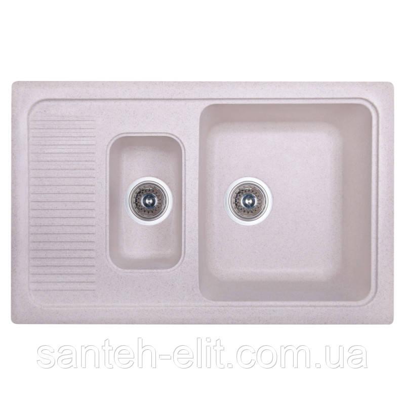 Кухонна мийка Fosto 7749 SGA-800 (FOS7749SGA800)