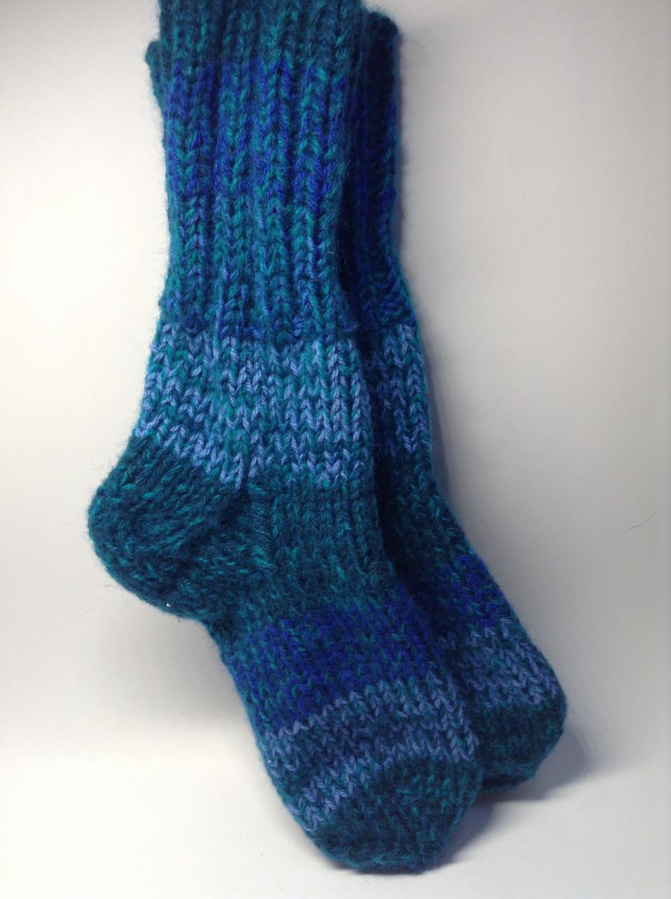 Носки вязаные (40% шерсть)