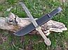 Бебут дамаська сталь мисливський ніж s-100 C, фото 2