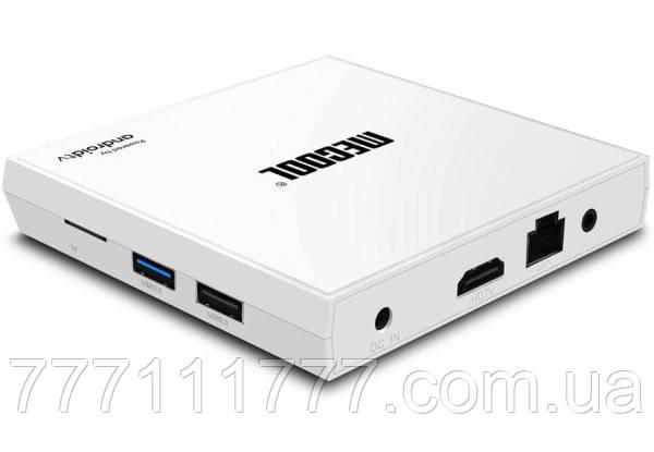 Смарт ТВ приставка для телевизора на андроиде MECOOL KM9 PRO 4/32Gb