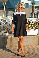 Женское повседневное платье  (46-56) 8040