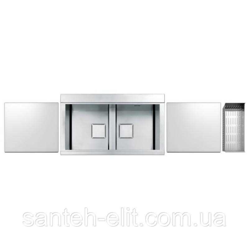 Кухонная мойка Apell Sinphonia PD862IKITW Satin