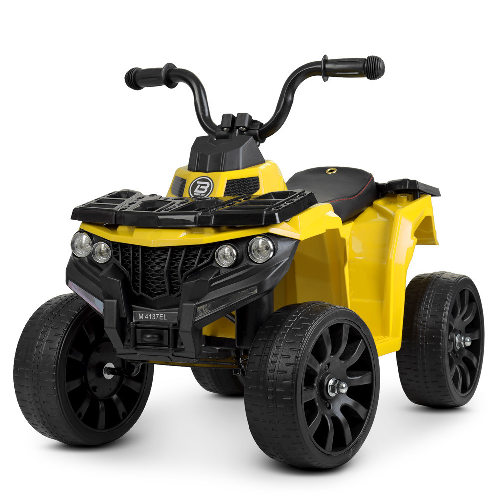 Детский электромобиль Квадроцикл Bambi Racer M 4137EL-6 желтый