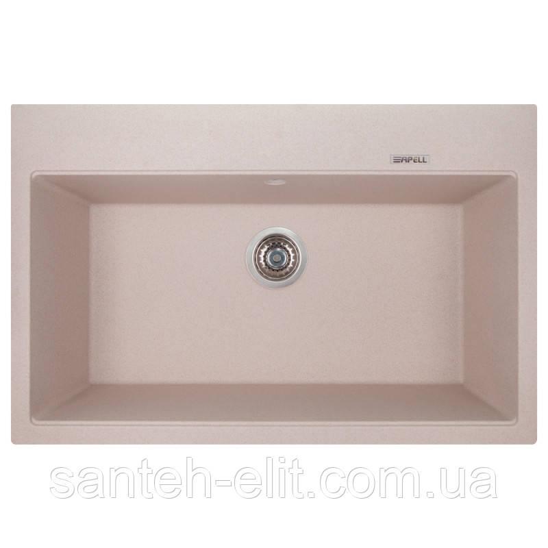 Кухонная мойка Apell Pietra Plus PTPL780GO Oats granit