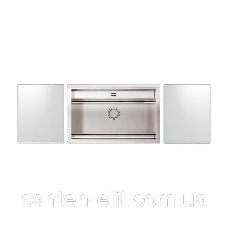 Набор Apell мойка кухонная Regola Polish RE791IKITW + смеситель Telescopic APF1260CR