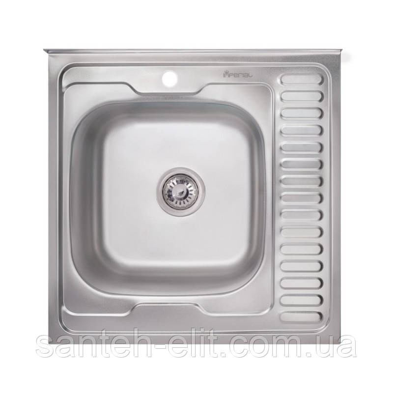 Кухонна мийка Imperial 6060-L Decor (IMP6060L06DEC)