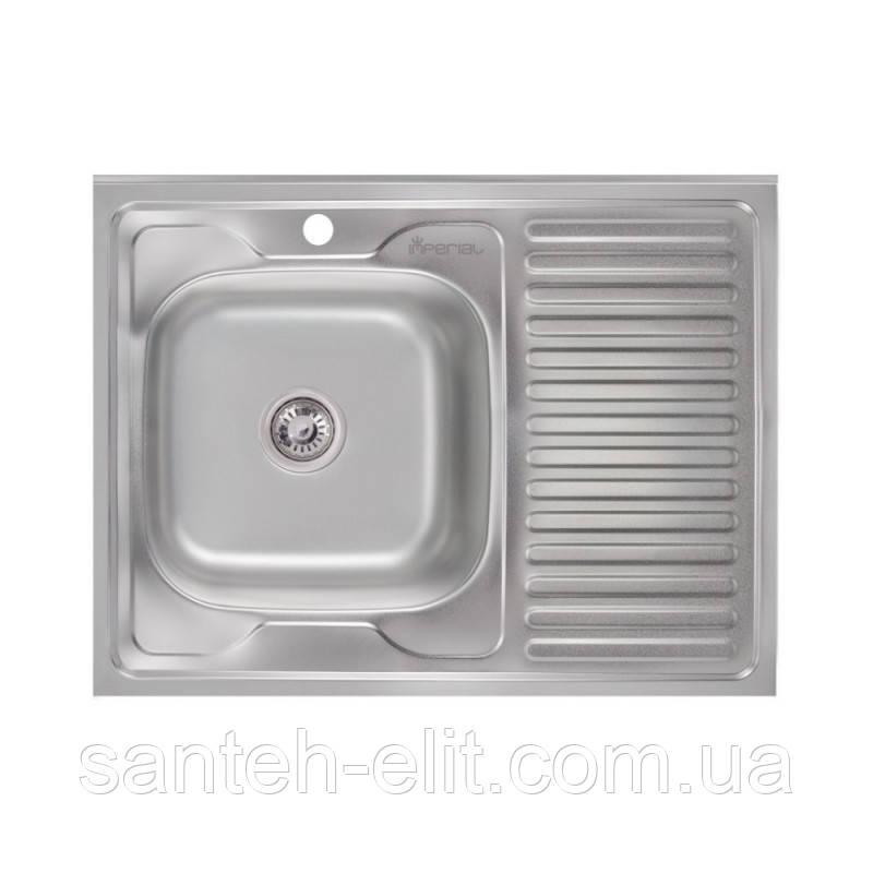 Кухонна мийка Imperial 6080-L Satin (IMP6080LSAT)