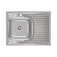 Кухонна мийка Imperial 6080-L Satin (IMP6080LSAT), фото 1