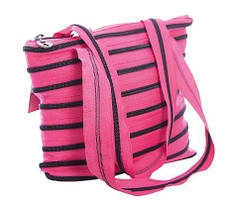 Сумка Zipit Monsters Tote / Beach Pink Begonia & Black Teeth (ZBZM-2), фото 3