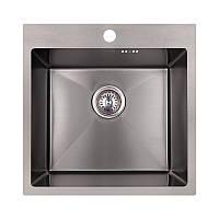 Кухонная мойка Imperial Handmade D5050BL 2.7/1.0 мм (IMPD5050BLPVDH12), фото 1